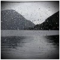 Rainy Day At Lac Lugano by scheinbar
