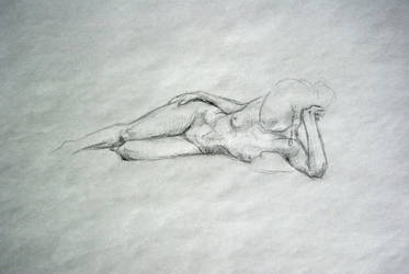 life drawing - I by PinkBunnyLilli