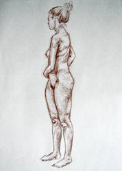 life drawing - III by PinkBunnyLilli