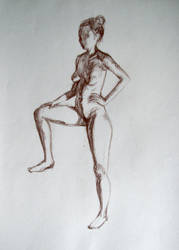 life drawing - IV by PinkBunnyLilli