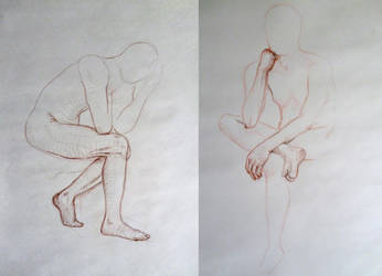life drawing - V by PinkBunnyLilli