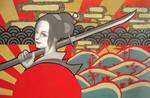 Naginata by y-u-k-i-k-o
