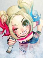 Harley Quinn by y-u-k-i-k-o