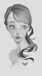 Monochrome Sketch by y-u-k-i-k-o