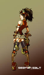 steampunk concept by kapao