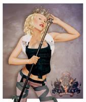 Queen Gwen Stefani by akugyouza