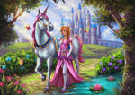 Princess starting an Adventure by Sicarius8 by cpmcpm13