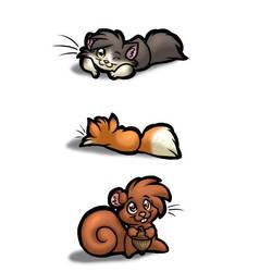 Cute Animals by kaykaykit