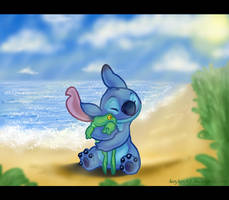 Beach Stitch by kaykaykit
