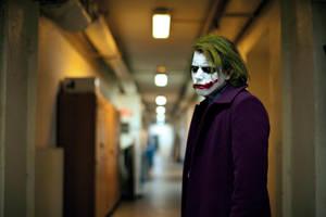 Joker cosplay enieme by Lucius-Ferguson