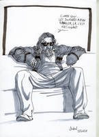 The dude sketch by Lucius-Ferguson