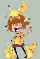 I hate pikachu by Willow-San