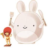 Bunny ROAR by Willow-San