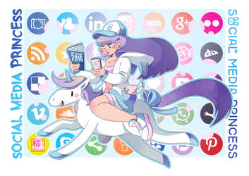 Social media princess by Willow-San