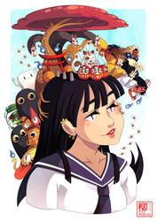 Yokai girl by Willow-San