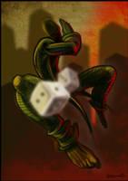 The Gambler by alhemyo