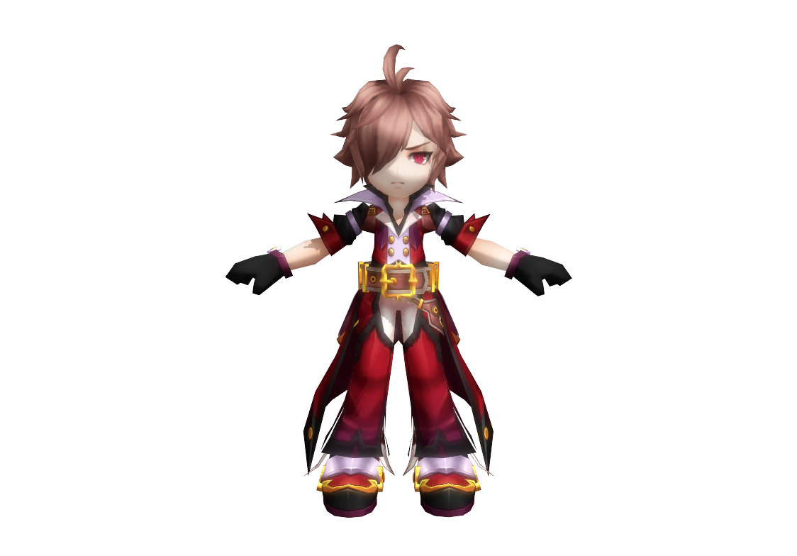 MMD Grand Chase Model Rip 45: Luxus/Rufus Wilde by
