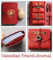 Canadian Travel Journal by versarnwen