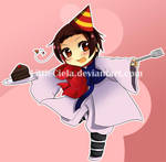 APH-Happy Birthday, Korea by LittleCiela