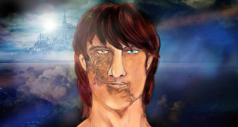 Joshua (First conceptual Drawing) by spiritcoda