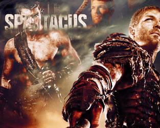 Spartacus THE WARRIOR by spiritcoda