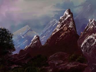 The Mountains by spiritcoda