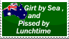 Pissed by Lunch Stamp by shadows0le
