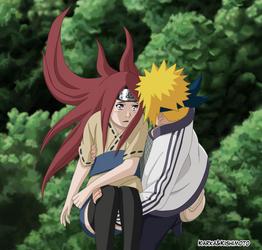 Minato and Kushina by karka92
