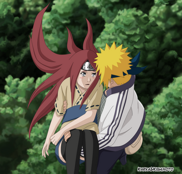 Minato and Kushina by karka92