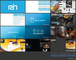 Rain Creative Company Profile by jpdguzman