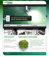 Azlan Web Design by jpdguzman
