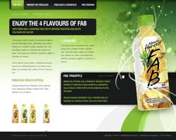 Nature's Harvest Fab Website by jpdguzman