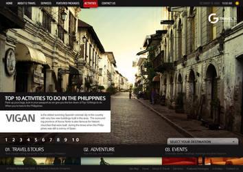 G Travel Website 2 by jpdguzman