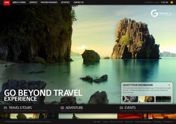 G Travel Website 3 by jpdguzman