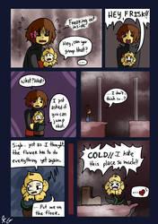 Underfell - Snowdin - 18 by Kaitogirl
