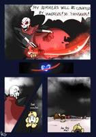 Underfell - Snowdin - 164 by Kaitogirl
