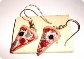 italian pizza earrings by ButterMakesYouFat