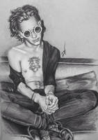Matty Healy by zazafras