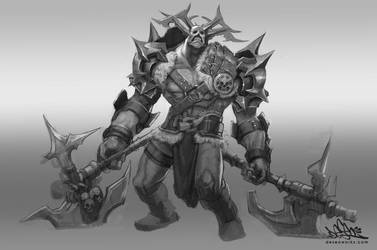 Orc Dude by DESEO-ONE