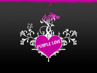 Purple Love by CRiMiNaL1453