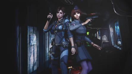 Happy birthday AliceCroft|Jill and Jessica|Raid by Keyre