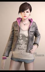 Moira Burton || Resident Evil: Revelations 2 by Keyre