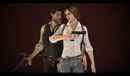 The Evil Within - Sebastian and Julie by Keyre