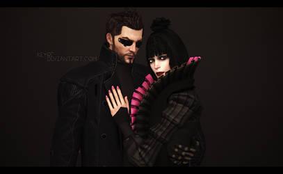 Deus Ex: Adam and Eliza by Keyre