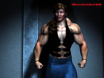 Massive Muscle Beauty by wardrider99