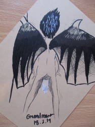 Vampire birth by JadeTheDayDreamer