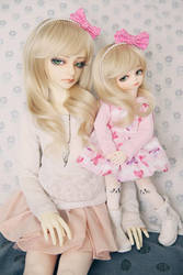 Bell and Littlebell by dollstars