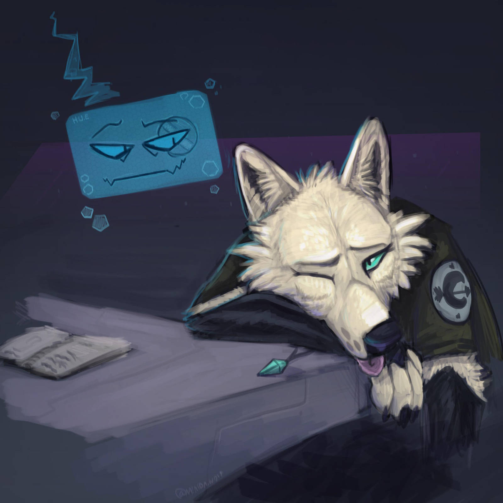 huehh by Minionwolf711