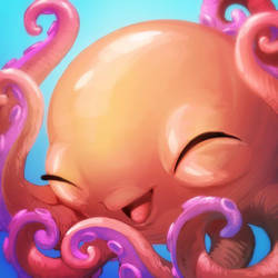Octo Squee by goosezilla