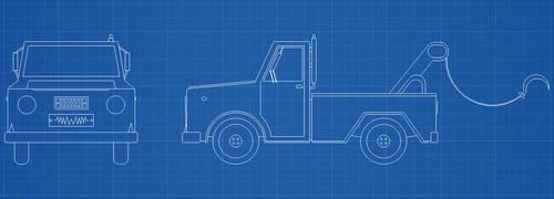 Truck Blueprints by pelle131313